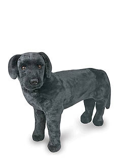 Melissa & Doug Plush Black Lab - Online Only