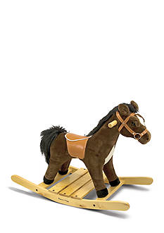 Melissa & Doug Rock N Trot Rockin Horse Plush-Online Only