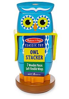 Melissa & Doug Wooden Owl Stacker