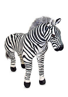 Melissa & Doug® Plush Zebra - Online Only