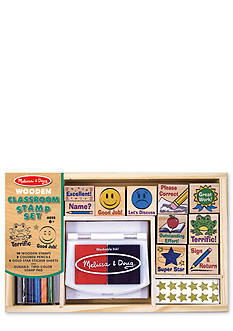 Melissa & Doug Classroom Stamp Set - Online Only