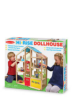 Melissa & Doug Hi-Rise Dollhouse - Online Only