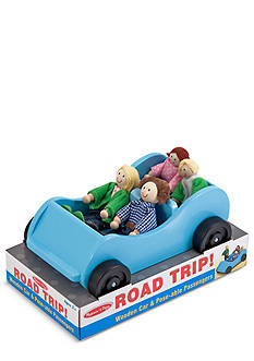 Melissa & Doug Road Trip Wooden Car and Passenger Set