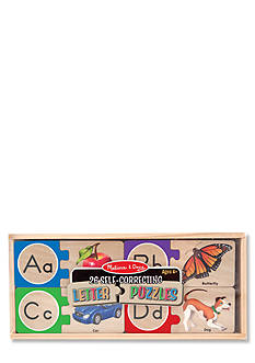 Melissa & Doug Alphabet Puzzle Cards