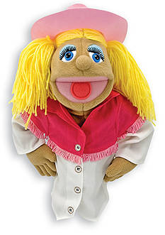 Melissa & Doug Cowgirl Puppet