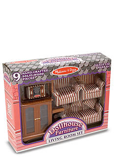 Melissa & Doug Doll House Living Room Set
