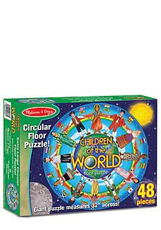 Melissa & Doug 48-Piece Children Around the World Floor Puzzle - Online Only