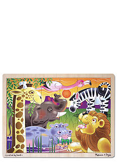 Melissa & Doug 24-Piece African Plains Jigsaw Puzzle - Online Only