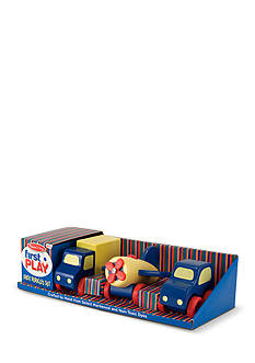 Melissa & Doug Wood Vehicle Set - Online Only