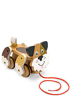 Melissa & Doug First Play Wood-Playful Puppy Pull Toy