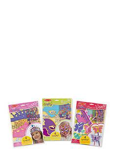 Melissa & Doug Simply Craft Bundle - Tiaras, Masks & Wands