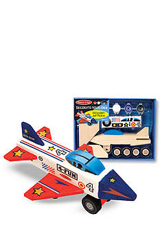 Melissa & Doug Wooden Jet Plane Kit - Online Only