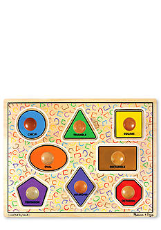 Melissa & Doug Jumbo Knob Shapes - Online Only