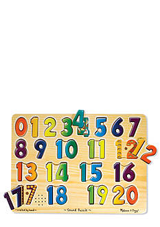 Melissa & Doug Numbers Sound Puzzle - Online Only