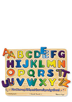 Melissa & Doug Alphabet Sound Puzzle - Online Only