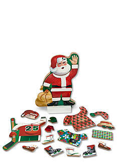 Melissa & Doug Dress-Up Magnetic Santa