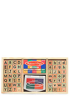 Melissa & Doug Alphabet Stamp Set - Online Only