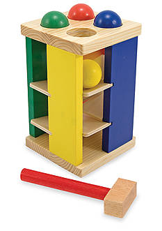 Melissa & Doug Pound And Roll Tower - Online Only