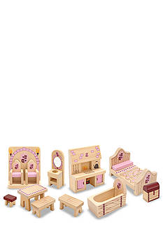 Melissa & Doug Princess Castle Furniture Set - Online Only