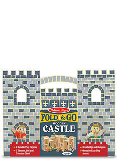 Melissa & Doug Fold and Go Castle - Online Only