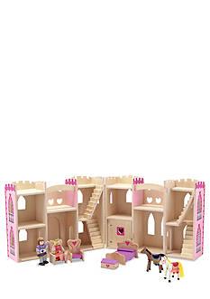 Melissa & Doug Fold & Go Princess Castle - Online Only