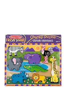 Melissa & Doug Safari Chunky Puzzle - Online Only