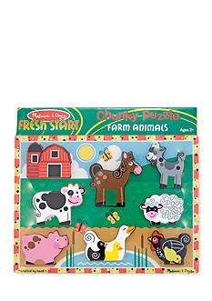 Melissa & Doug Farm Chunky Puzzle-Online Only
