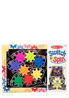 Melissa & Doug Switch & Spin Magnetic Gear Board - Online Only