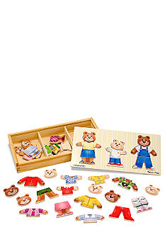 Melissa & Doug 45Pc Bear Family Puzzle