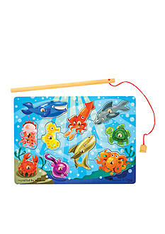 Melissa & Doug Fishing Magnetic Puzzle Game - Online Only