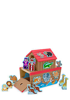 Melissa & Doug Chunky Animals & Wooden Ark