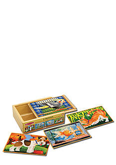 Melissa & Doug Pets Puzzles in a Box - Online Only