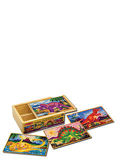 Melissa & Doug Dinosaurs Puzzles in a Box - Online Only