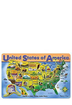Melissa & Doug 45-Piece U.S.A Puzzle Map