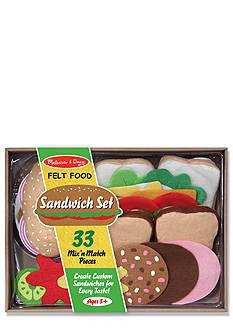 Melissa & Doug Felt Food Sandwich Set - Online Only