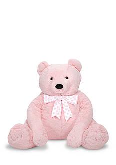 Melissa & Doug Pink Jumbo Teddy Bear - Online Only