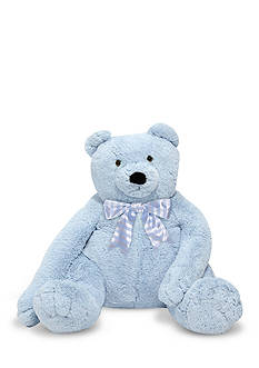Melissa & Doug Jumbo Blue Teddy Bear
