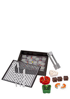 Melissa & Doug Wooden Grill Set