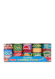 Melissa & Doug Let's Play House! Grocery Cans