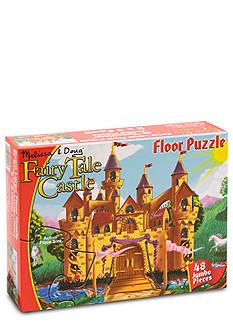 Melissa & Doug Fairy Tale 48-Piece Castle Floor Puzzle - Online Only