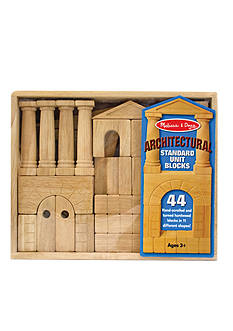 Melissa & Doug Architectural Standard Unit Blocks - Online Only