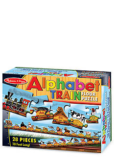 Melissa & Doug Alphabet Train 28-Piece Floor Puzzle - Online Only