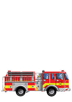 Melissa & Doug Giant Fire Truck 24-Piece Floor Puzzle - Online Only
