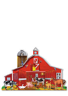 Melissa & Doug Farm Friends 32-Piece Floor Puzzle - Online Only