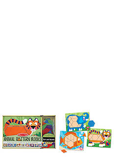 Melissa & Doug Animal Pattern Blocks - Online Only