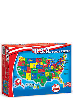 Melissa & Doug United States Map Floor Puzzle - Online Only