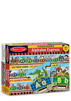 Melissa & Doug Alphabet Express Floor Puzzle 27-Pieces - Online Only