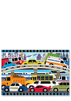 Melissa & Doug Traffic Jam Floor Puzzle 24-pieces - Online Only