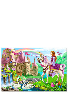 Melissa & Doug Fairy Tale Castle Floor Puzzle 48-Piece - Online Only