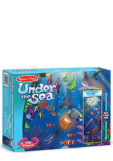 Melissa & Doug Under the Sea 100-Piece Floor Puzzle - Online Only